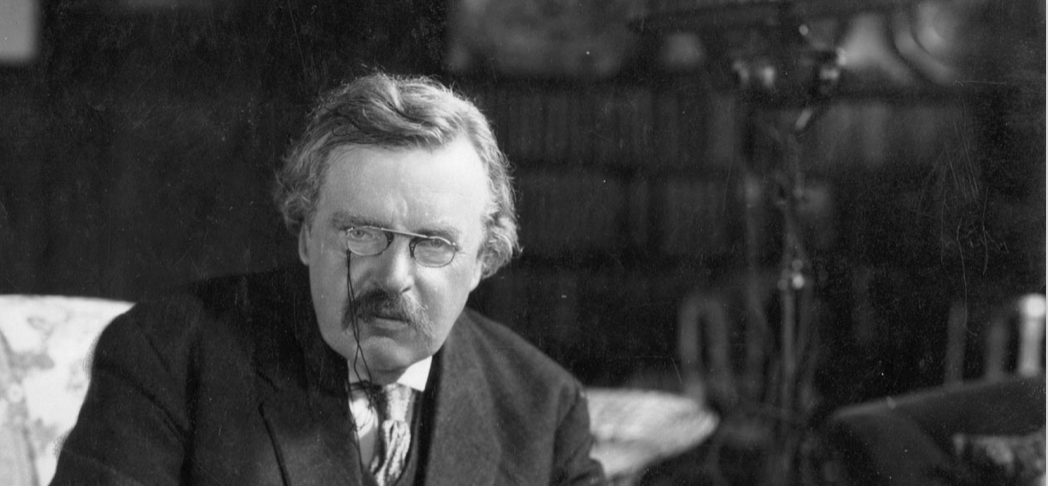 g.k.chesterton as an essayist G k chesterton 29 may 1874 - 14 june 1936 gilbert keith chesterton was an english writer, lay theologian, poet, philosopher, dramatist, journalist, orator, literary and art critic, biographer, and christian apologist.